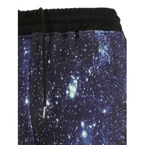 Long Sleeve Galaxy Sweatshirt and Jogger Pants Twinset -