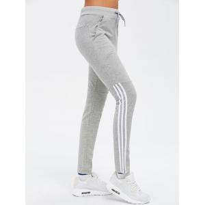 Striped Sport Running Leggings