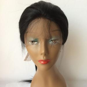 360 Lace Frontal Long Straight Human Hair Wig -