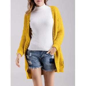 Chunky Knit Open Front Cardigan