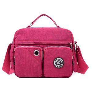 Nylon Multi Pockets Diaper Bag