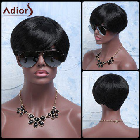 Shop Synthetic Fluffy Full Bang Short Layered Cut Wigs For Women