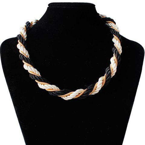 Shop Braided Rope Chain Necklace