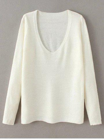 Discount Pullover V Neck Sweater
