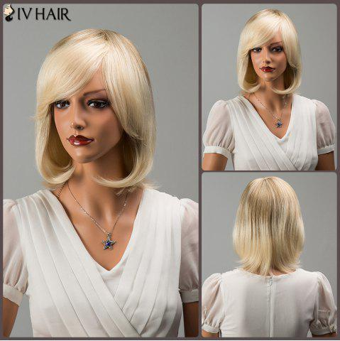 Hot Siv Hair Fascinating Short Side Bang Straight Human Hair Wig
