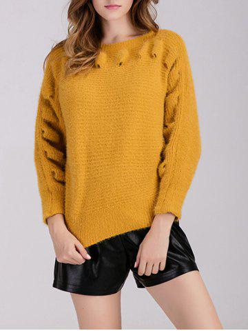 Outfits Pullover Crew Neck Chunky Sweater