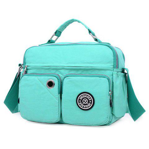 Chic Nylon Multi Pockets Diaper Bag