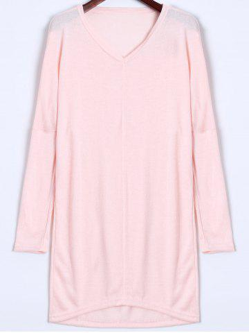 Buy V Neck Longline Sweater