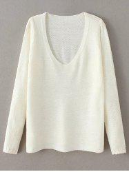 Pullover V Neck Sweater -