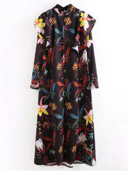 Floral Printed Loose Dress