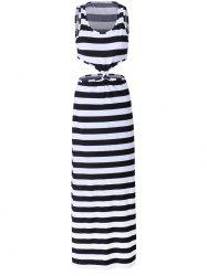 Petite Stripe Beach Maxi Dress