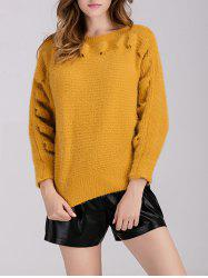 Pullover Crew Neck Chunky Sweater -