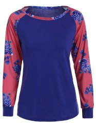 Floral Printed Long Sleeve Tee