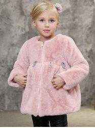Kids Trick Faux Fur Coat -