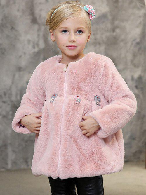 Store Kids Trick Faux Fur Coat