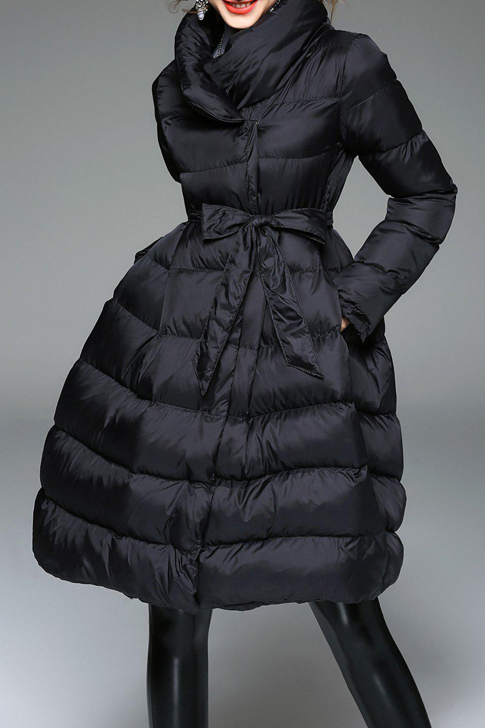 Sale Padded A Line Coat