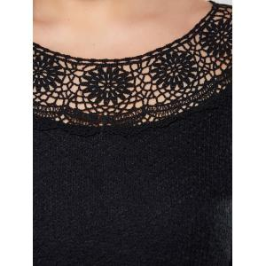 Plus Size Hollow Out Knitwear -