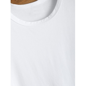 Sivan 95 Print Short Sleeve T Shirt - WHITE L
