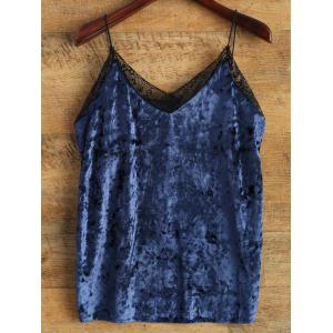 Cami Lace Spliced Loose Tank Top