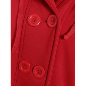 Capuche manches longues Peacoat -