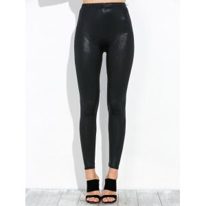 High Waist Footless Leggings