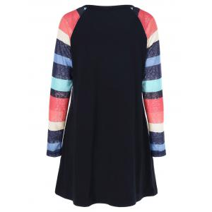 Colorful Striped Dress -