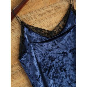Cami Lace Spliced Loose Tank Top -