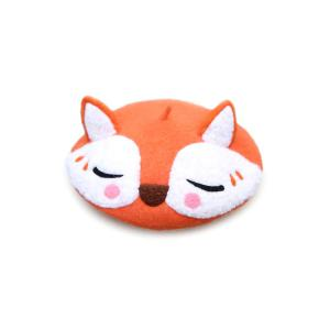 Lovely Fox Woolen Beret