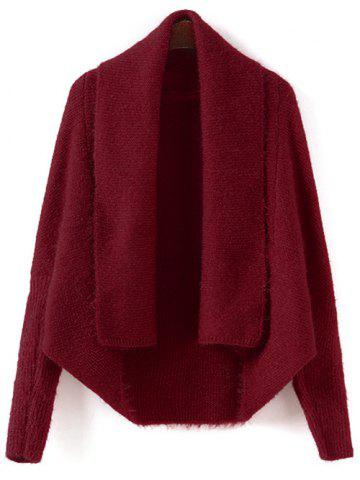Shop Batwing Sleeve Convertible Cape Cardigan