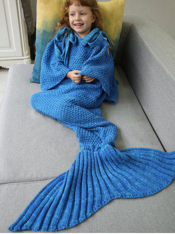 Trendy Winter Sleeping Bag Bed Throw Wrap Mermaid Blanket