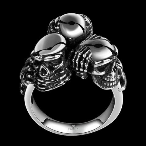 Store Engraved Alloy Devil Skull Ring