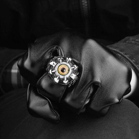 Buy Skull Eye Claw Alloy Ring - 9 SILVER Mobile