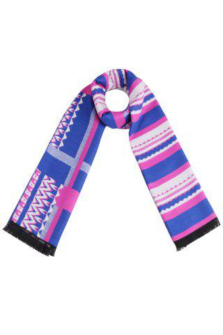 Discount Stripy Color Scarf
