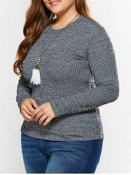 Plus Size Fitted Knitwear -