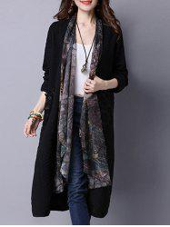 Open Front Casual Cardigan -