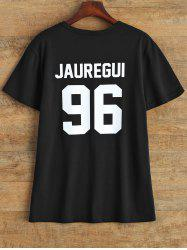 Jewel Neck Jauregui 96 T Shirt