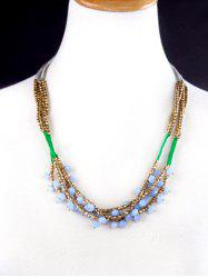 Bohemian Braid Collier de perles -
