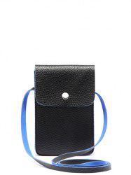 PU Leather Mini Cell Phone Purse