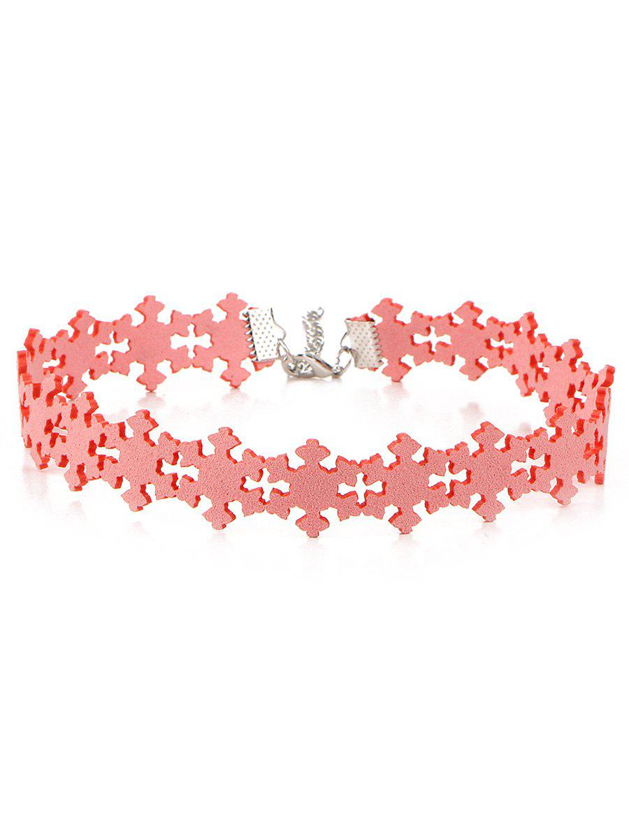 Shops Snowflake Choker Necklace