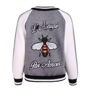 Embroidery Sweater Souvenir Jacket -