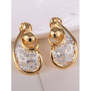 Bijoux Vintage évider Water Drop Set -
