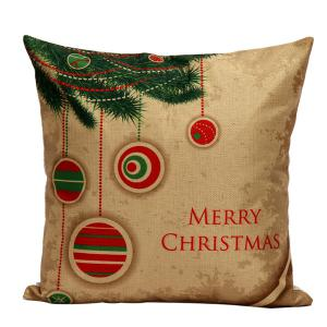 Christmas Tree Hanger  Cushion Linen Throw Pillow Cover