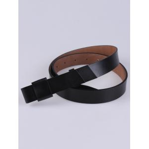 Coat Wear Adjustable Faux Leather Belt