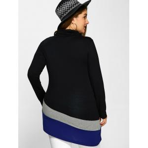 Plus Size Cowl Neck Tee -
