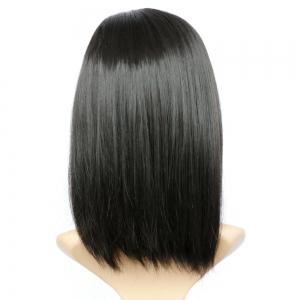 Impressive Medium Side Parting Straight Synthetic Wig -