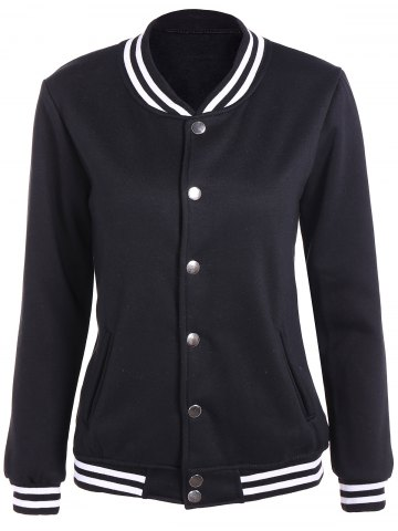 Outfit Preppy Style Baseball Jacket