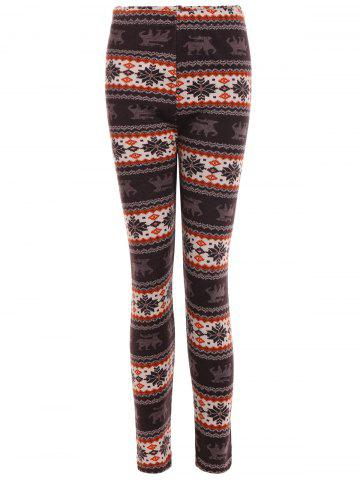 Best Snowflake Patterned Christmas Leggings