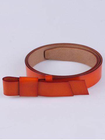 Trendy Coat Wear Adjustable Faux Leather Belt