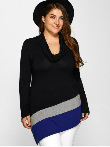 Best Plus Size Cowl Neck Tee