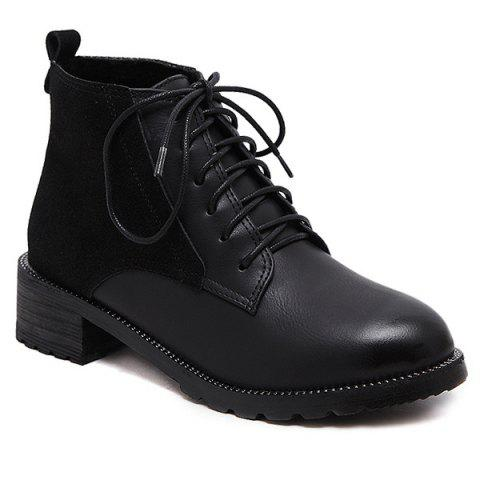 Sale Tie Up Ankle Boots